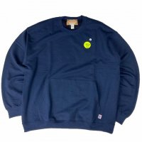 <img class='new_mark_img1' src='https://img.shop-pro.jp/img/new/icons15.gif' style='border:none;display:inline;margin:0px;padding:0px;width:auto;' />RELAX FIT MUFF SWEAT CREW NAVY