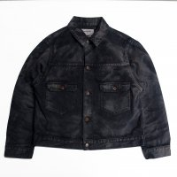 <img class='new_mark_img1' src='https://img.shop-pro.jp/img/new/icons15.gif' style='border:none;display:inline;margin:0px;padding:0px;width:auto;' />ANACHRONORM 2nd WORK JACKET SULFUR DYE BLACK
