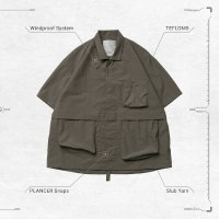 <img class='new_mark_img1' src='https://img.shop-pro.jp/img/new/icons50.gif' style='border:none;display:inline;margin:0px;padding:0px;width:auto;' />GOOPi WR Neckband Shirt - TEA