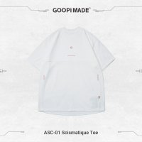 <img class='new_mark_img1' src='https://img.shop-pro.jp/img/new/icons15.gif' style='border:none;display:inline;margin:0px;padding:0px;width:auto;' />GOOPi Scismatique Tee WHITE