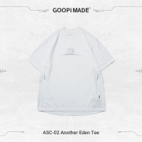 <img class='new_mark_img1' src='https://img.shop-pro.jp/img/new/icons15.gif' style='border:none;display:inline;margin:0px;padding:0px;width:auto;' />GOOPi ANOTHER EDEN TEE White