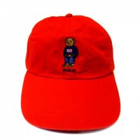 <img class='new_mark_img1' src='//img.shop-pro.jp/img/new/icons50.gif' style='border:none;display:inline;margin:0px;padding:0px;width:auto;' />POLO by RALPH LAUREN POLO BEAR COTTON CAP RED