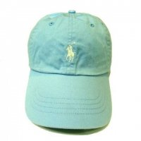<img class='new_mark_img1' src='//img.shop-pro.jp/img/new/icons50.gif' style='border:none;display:inline;margin:0px;padding:0px;width:auto;' />POLO by RALPH LAUREN Classic Baseball Cap AQUA BLUE