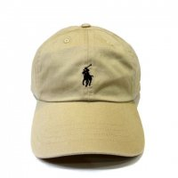 <img class='new_mark_img1' src='//img.shop-pro.jp/img/new/icons60.gif' style='border:none;display:inline;margin:0px;padding:0px;width:auto;' />POLO by RALPH LAUREN Classic Baseball Cap BEIGE