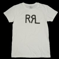 RRL GRAPHIC LOGO T-SHIRT WHITE