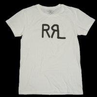 RRL GRAPHIC LOGO T-SHIRT WHITE