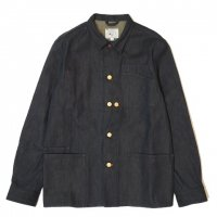 <img class='new_mark_img1' src='https://img.shop-pro.jp/img/new/icons50.gif' style='border:none;display:inline;margin:0px;padding:0px;width:auto;' />KNICKER BOCKER MFG Worker's Chore Coat INDIGO