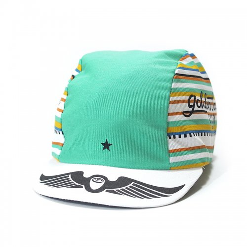 Golden Saddle Cyclery - GSC x Intelligentsia Cycling Cap - Mint Green