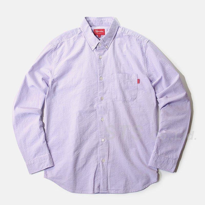 Supreme - Tonal Seersucker Shirt