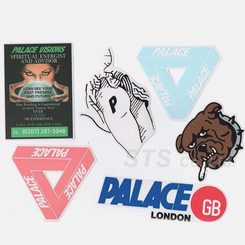 169206c59fd1 Palace Skateboards - Sticker Pack - ParkSIDER