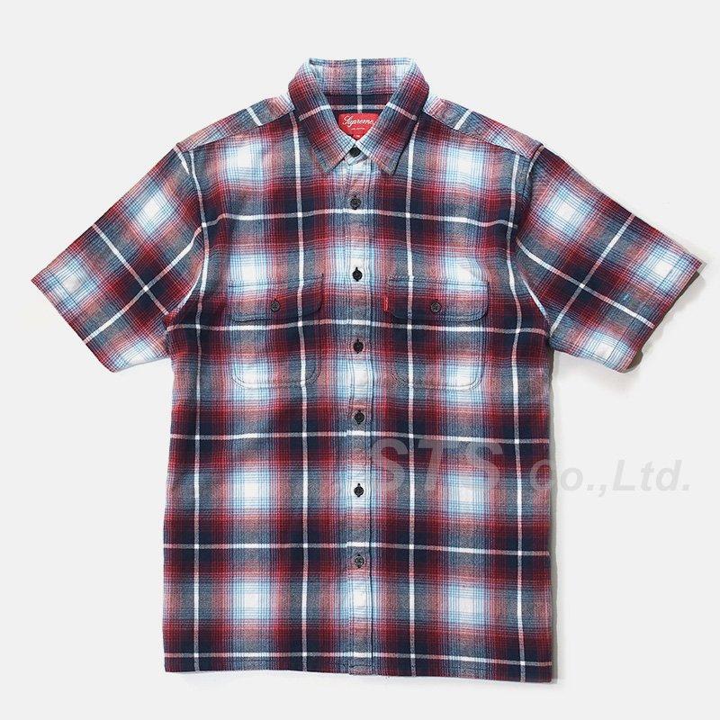 Supreme - S/S Plaid Flannel Shirt