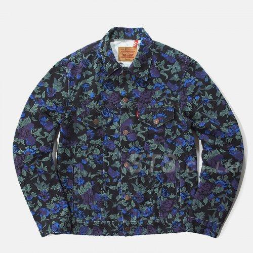 Supreme/Levi's Roses Trucker Jacket