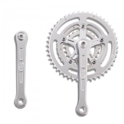 Velo Orange - Grand Cru 110 Fluted Triple Crankset, 24x34x48t
