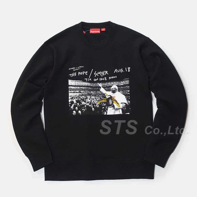 Supreme/ANTIHERO Pope Crewneck