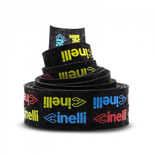 Cinelli - Logo velvet Ribbon Tape