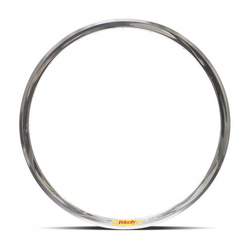 Velocity - Deep V Non-Machined Clincher Rim (Polished) [700c]