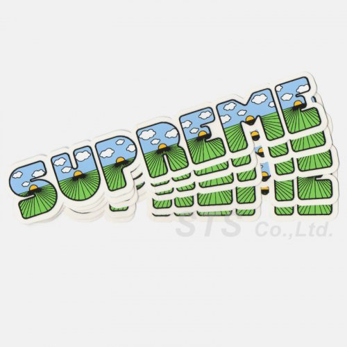 Supreme - The Shit Sticker