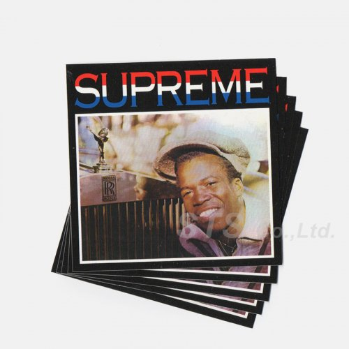 Supreme - Barrington Levy & Jah Life Englishman Sticker