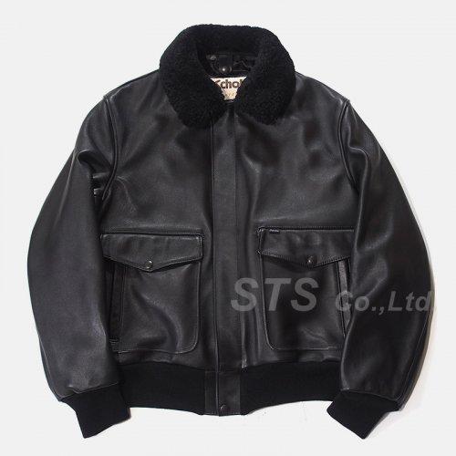 Supreme/Schott Leather A-2 Fight Jacket
