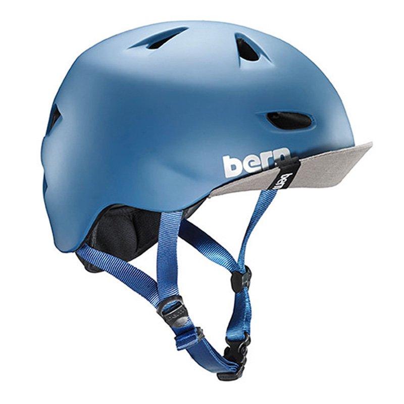 bern - Brentwood / Matte Steel Blue