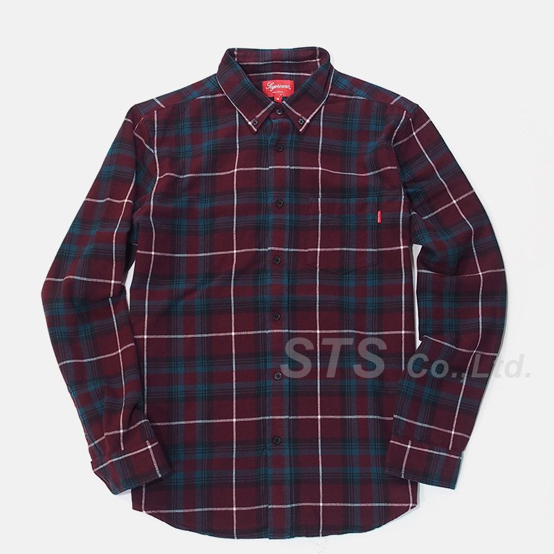 Supreme - Tartan Plaid Flannel Shirt