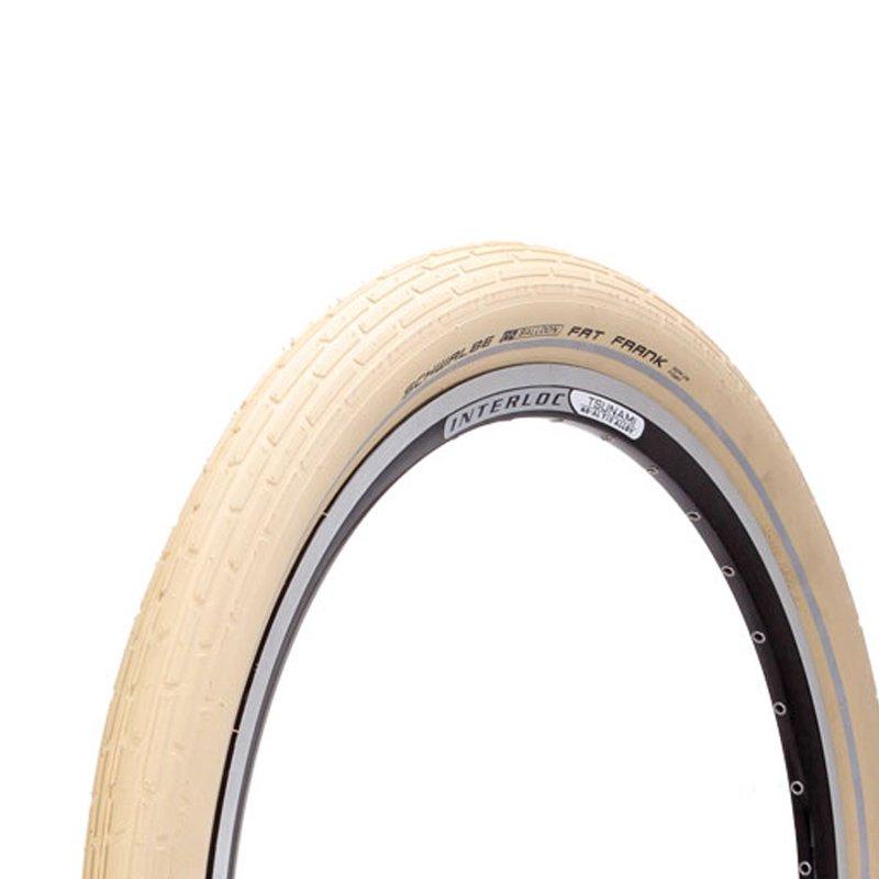 Schwalbe - Fat Frank/Creme-Reflex, Wired Tire (26 x 2.35)