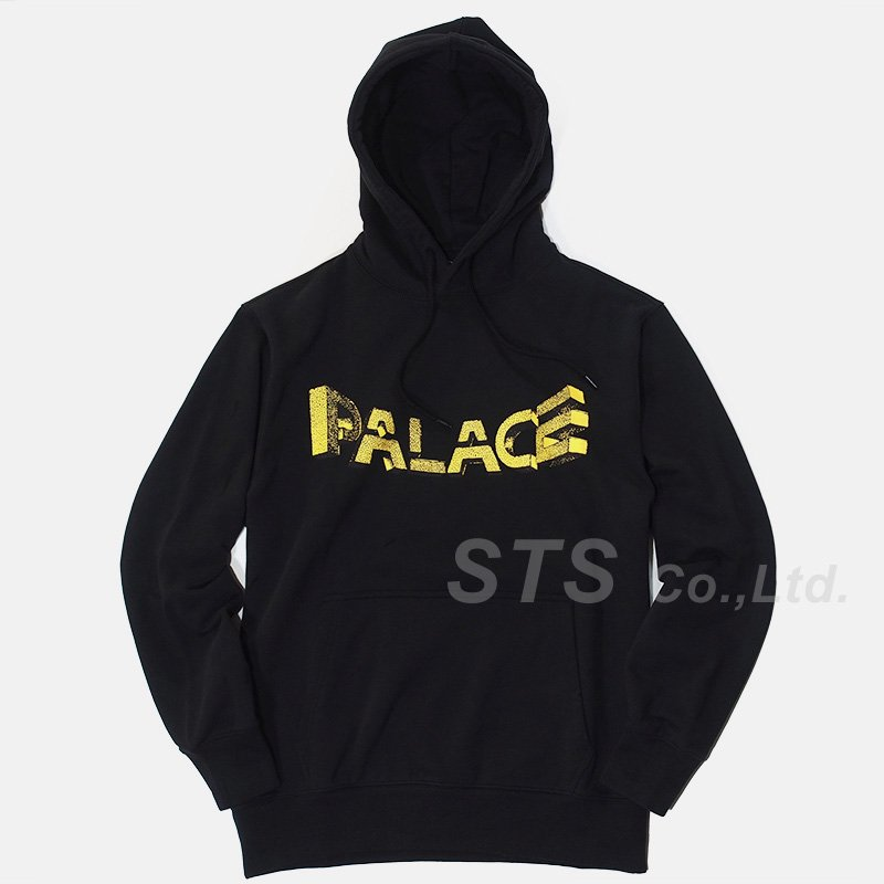 Palace Skateboards - Warp Font Hood