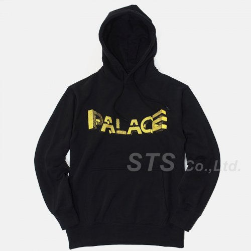 Palace Skateboards - Warp Font Hood