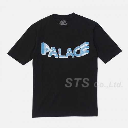 Palace Skateboards - Warp Font T-Shirt