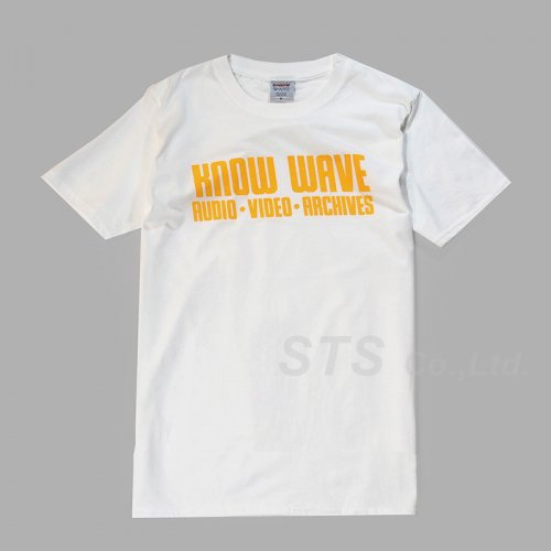 Know Wave - NO. KW112216 Record Tee
