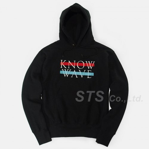 Know Wave - No. KW121216 Logo Hoodie