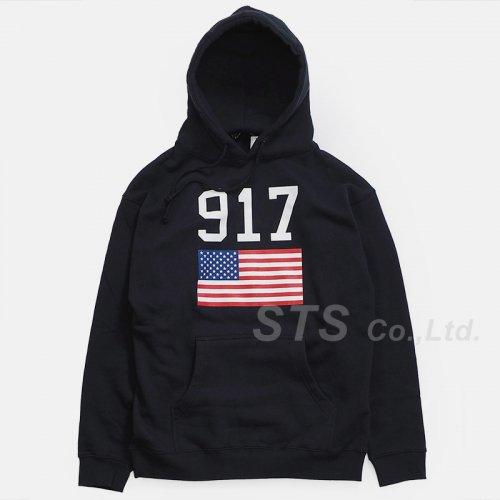 Nine One Seven - 917 USA Hooded Sweatshirt