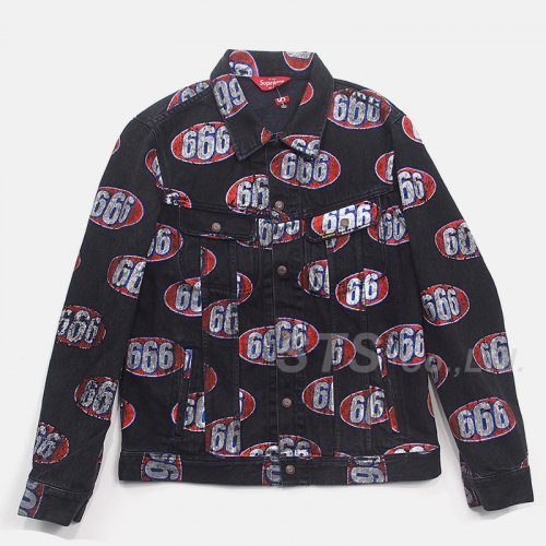 Supreme - 666 Denim Trucker Jacket