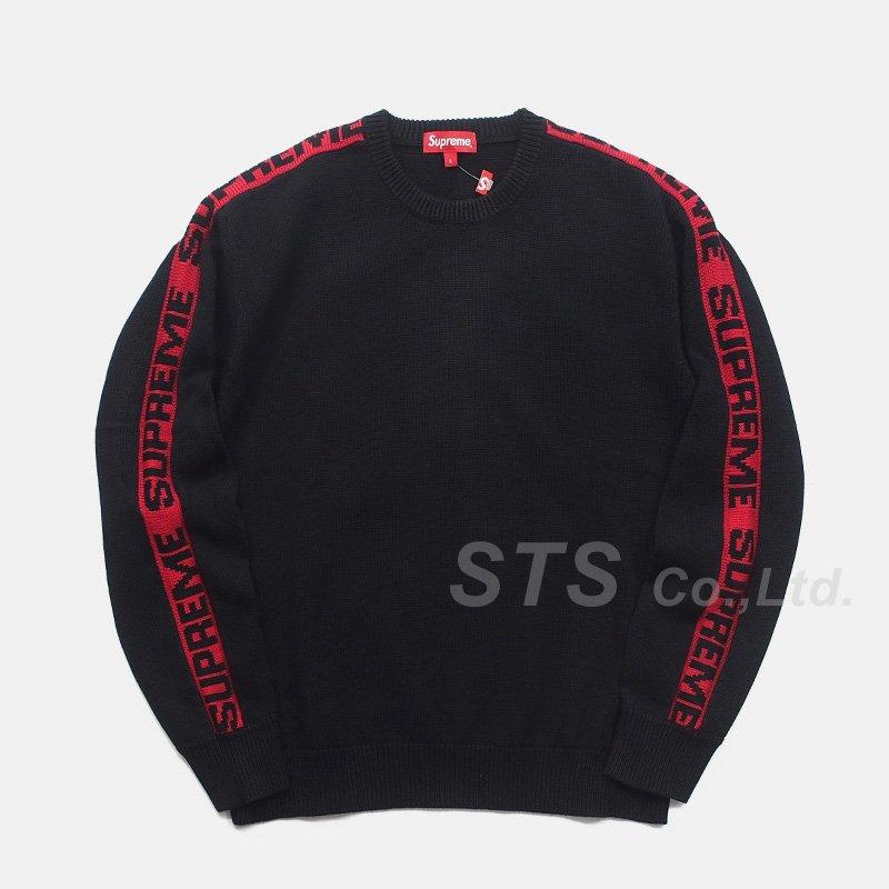 Supreme - Sleeve Stripe Sweater