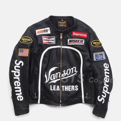 Supreme/Vanson Leather Star Jacket