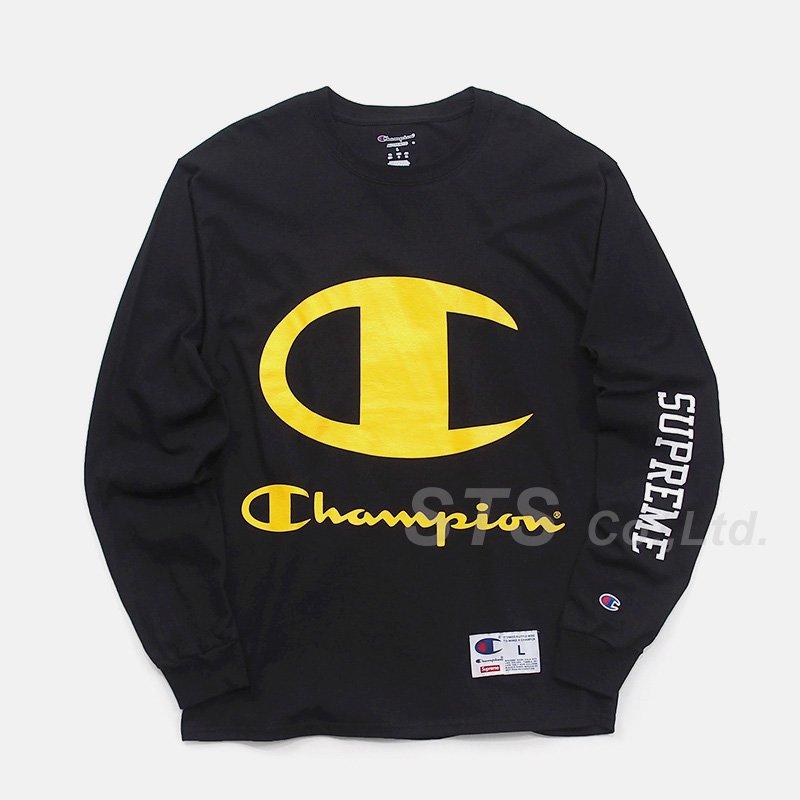 Supreme/Champion L/S Tee