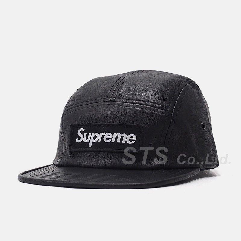 Supreme - Leather Camp Cap