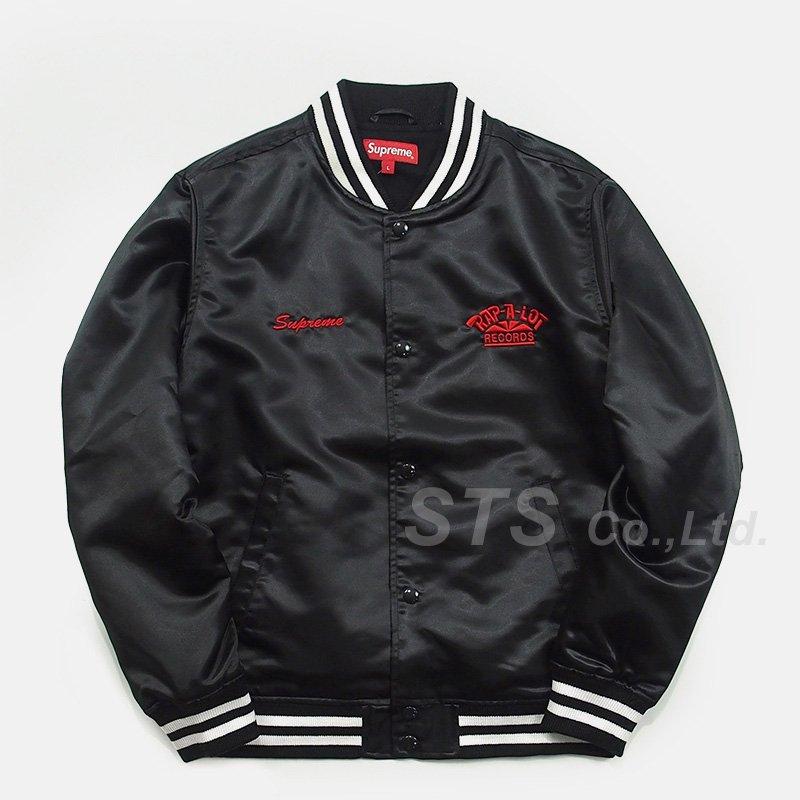 3baaff5dd5f98 Supreme Rap-A-Lot Record Satin Club Jacket - ParkSIDER