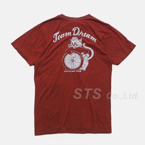 Team Dream Bicycling Team - Tough Cat Pocket Tee