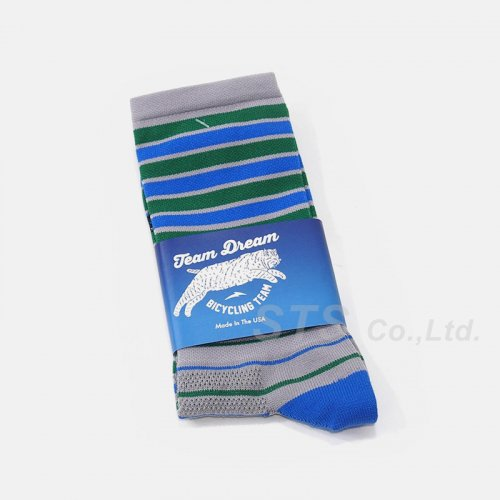Team Dream Bicycling Team - Pop Block V3 Two Toner Socks