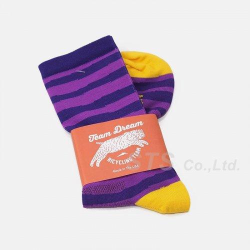 Team Dream Bicycling Team - Hand Stripe Sock