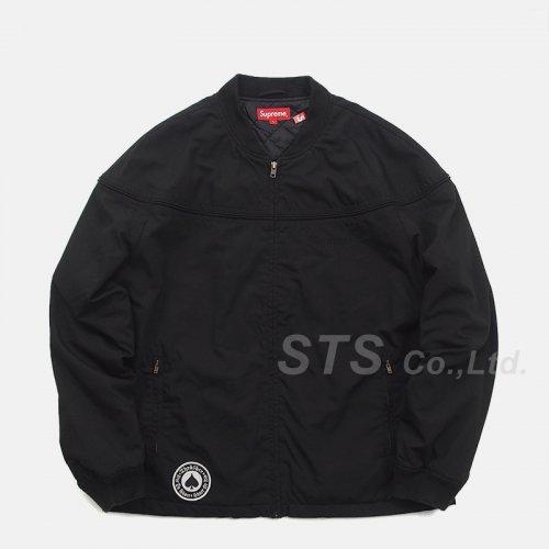 Supreme/Thrasher Poplin Crew Jacket