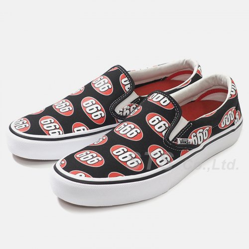 Supreme/Vans 666 Slip-On