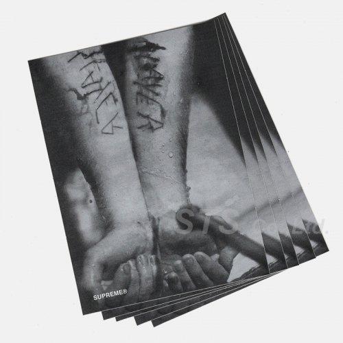 Supreme/Slayer Cutter Sticker