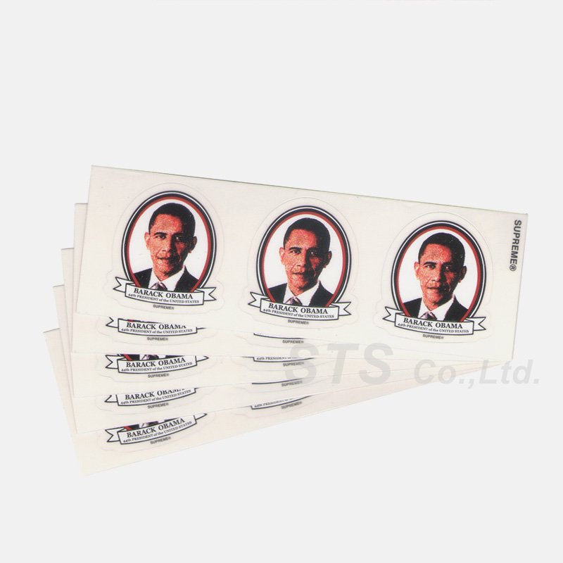 Supreme - Mini Obama Sticker