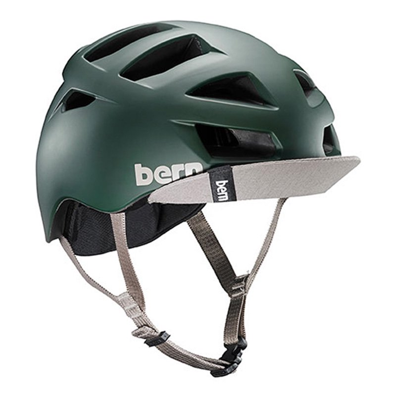 bern - Allstone / Matte Hunter Green