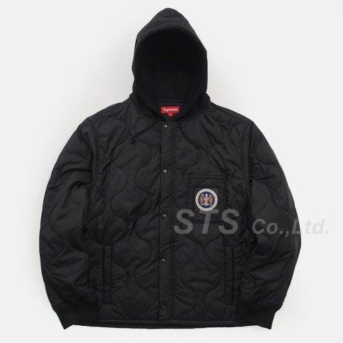 Supreme - Quilted Liner Hooded Jacket