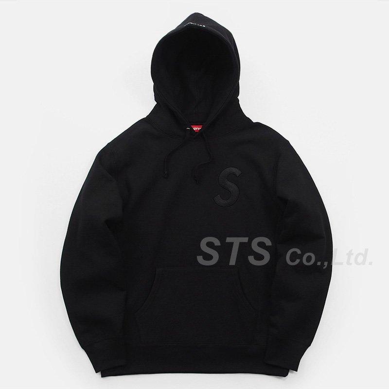 Supreme - Tonal S Logo Hooded Sweatshirt