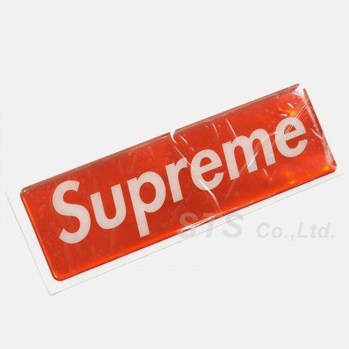 Supreme - Raised Plastic Box Logo Sticker
