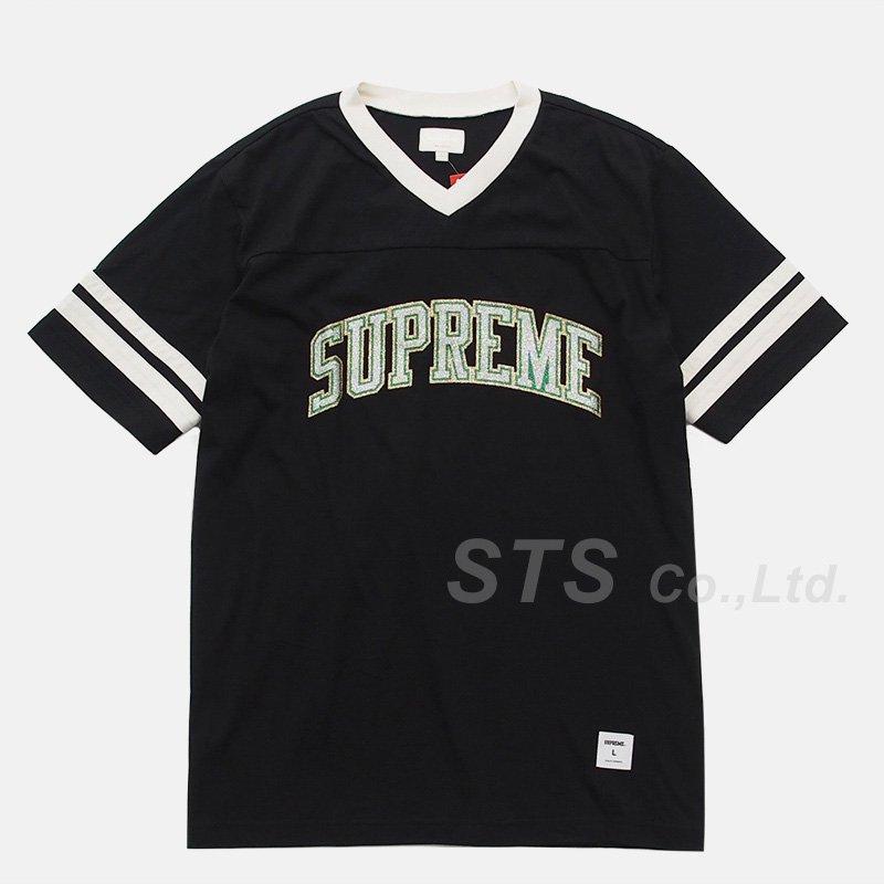 Supreme - Glitter Arc Football Top